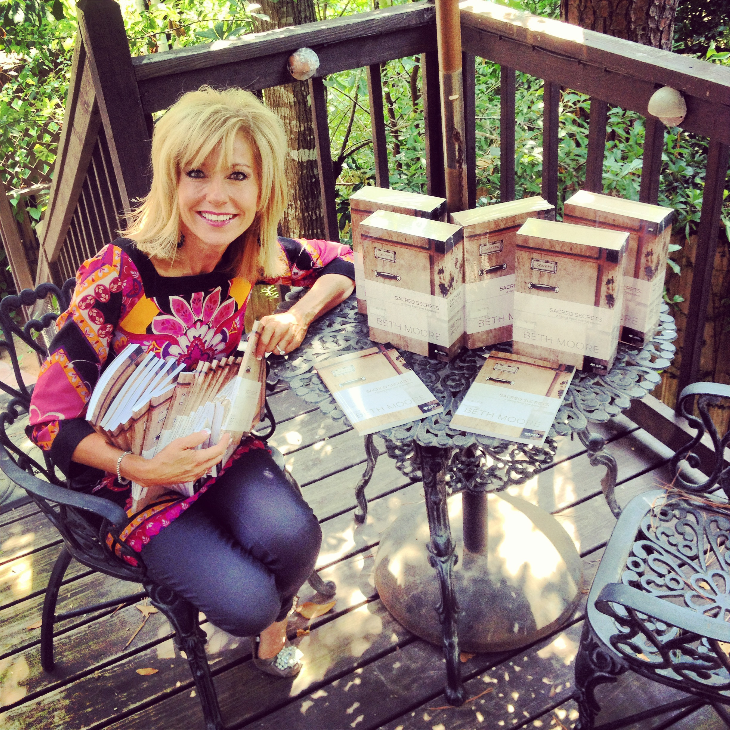Beth Moore's Blog - What in the World is a Sacred Secret ...