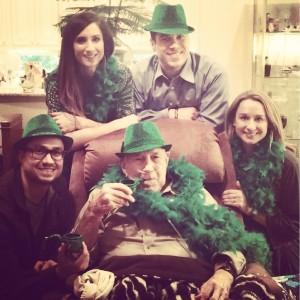 On St Patrick's Day