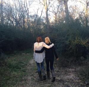 Mom & Me Walking