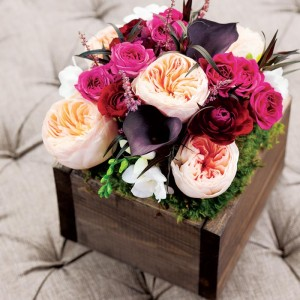 Olive & Cocoa Floral Bouquet